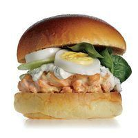 Rachel Ray Salmon Delight Burger