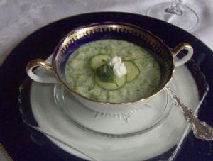 Cucumber Gazpacho (1/2 Cup Serving)