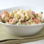 L.R. tuna pasta salad with fat-free dressing