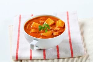 Butternut Squash Goulash with Brown Rice