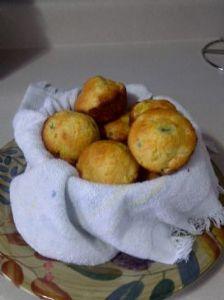 Easy Mexican cornbread muffins