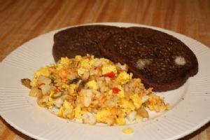 Tofu Scramble Casserole - Vegan Breakfast