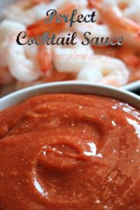Lower carb shrimp cocktail sauce