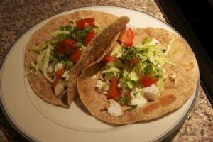 Tilapia Fish Burrito / Taco