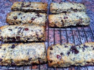 Coconut Quinoa energy bars