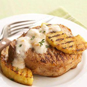 Grilled Pork & Pineapple