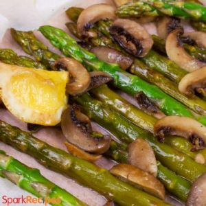 Asparagus Salad with Lemon Soy Vinaigrette RECIPE