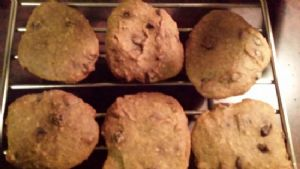 Plantain Paleo Dark Chocolate Chip Cooke