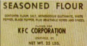 kfc basic flour