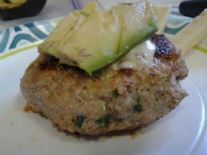 Pepper Jack Turkey Burger