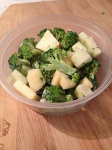 Apple & Broccoli Salad