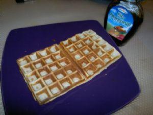 Low fat waffles
