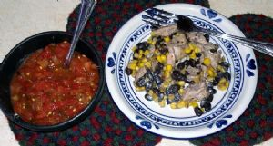 Southwest Chicken Beans and Corn skillet lunch (1 cup)