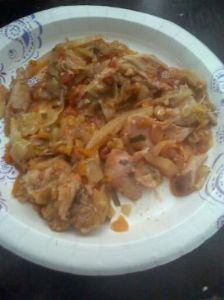 Leftover roasted Chicken and Turkey Casserole