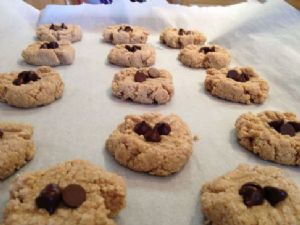 Paleo Almond Butter Cookies