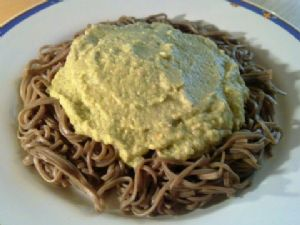 Spaghetti with Fennel-Zucchini-Tuna Blend