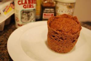 One Minute Flax Muffin