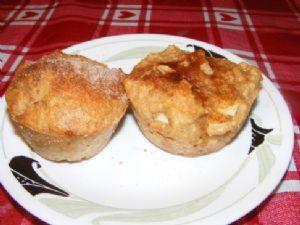 Lighter Apple Dumpling Muffins