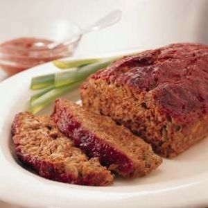 Grandma Cooke's Meatloaf (with ground turkey)