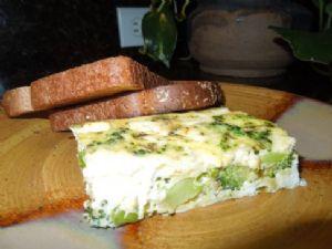 Broccoli Feta Cheese Breakfast Casserole