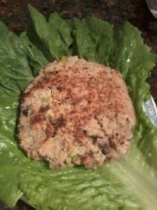 Tuna Fish Burger patties
