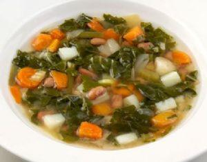 Black Bean, Bok Choy, Miso Soup