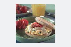 Pepper jack Breakfast Sandwich