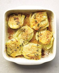 Baked Fennel with Parmesan and Thyme