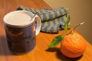 Orange-Cocoa Dessert Coffee (low fat & low carb!)