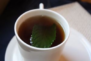 Hot Mint Tea