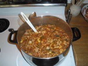 My Minestrone with Beef