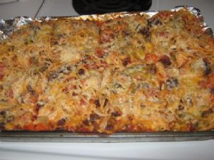 Canned Baked Spaghetti