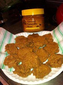 50 Calorie Almond Butter Cookies (low carb! vegan!)