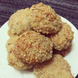 Almond Breaded Chicken Nuggets