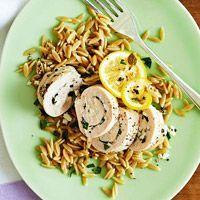 Chicken Feta Roll-Ups