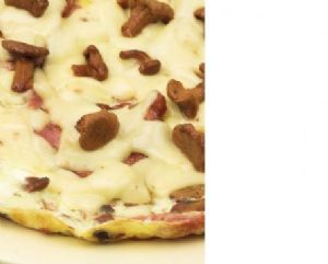 Mushroom, Ham and Cheese Egg-White Omelet