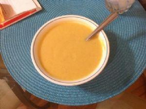 1st Pumpkin soup recipe