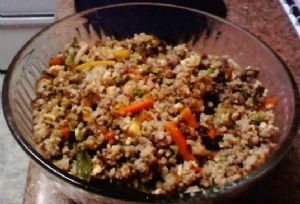 Low Cal Low Fat Low Carb Fried Rice