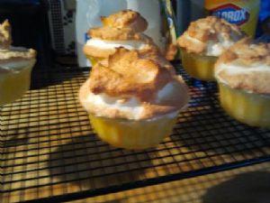 Crustless Lemon Meringues