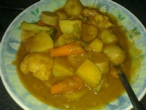 Low fat Vienner curry