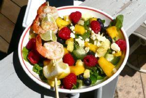 Lemon & Lime Shrimp Skewers