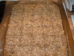 Basic Granola Bars, clean eating