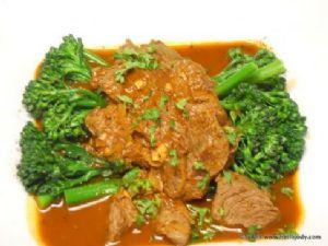 HCG Phase 2 - Beef Goulash with Aspiration Broccolini