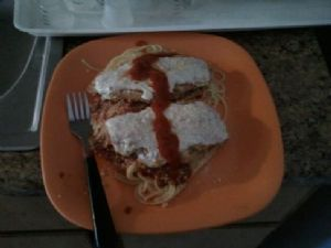 Easy and Fast chicken Parmesan