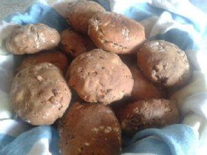 Buckwheat bread with wallnuts