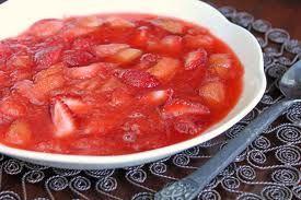 Strawberry-Rhubarb-Banana Compote