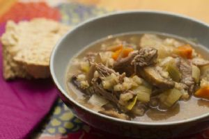 Beef & Barley Stew (with Eye of Round Roast)