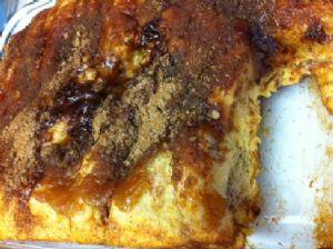 Apple Fritter Cake/Apple Pie Cake