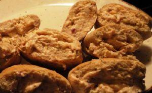 Smoked Salmon Mini Pita Appetizers