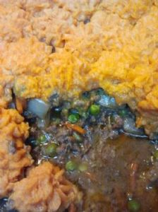 Sweet Potato Shepards Pie